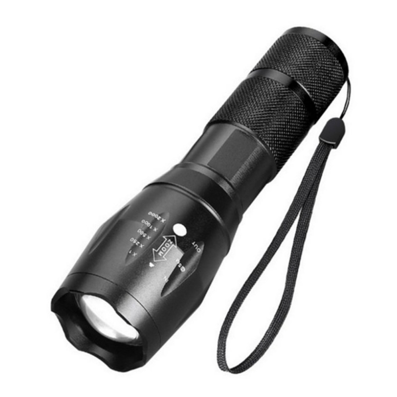 Tactical Flashlight Military Tac Light Pro Seen On TV Flashlight Torch Lamp Powerful A100 Outdoor Hunting Lighting Telescopic