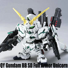 Japanese anime figures Gundam SD BB Full Armor Unicorn action figure plastic model kits toys (35(China)