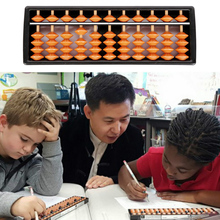 11 цифр инструмент Abacus арифметика дети пластик обучения Математика помощь вычисление игрушки подарки