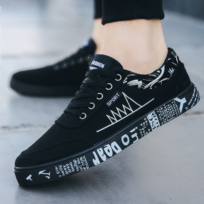 Men Vulcanize Shoes New Canvas Shoes Men Comfort Men Shoes Fashion Sneakers Men Casual Sheoes Designer Sneakers Male Footwear