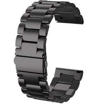 24mm Edelstahl Armband Strap Armband Für Kospet Hoffen/Optimus Pro/Brave Smart Uhr Metall Band Telefon männer uhr Correa