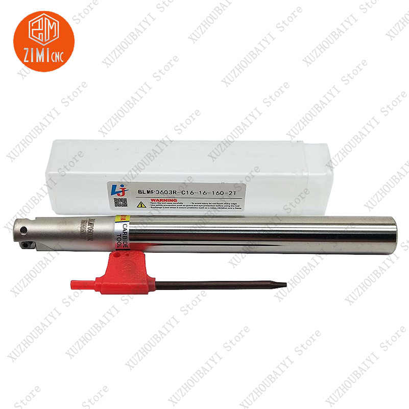 1pc BLMP0603R-C20-20-160-3T 3Flute lathe turning tool holder Milling cutter tool