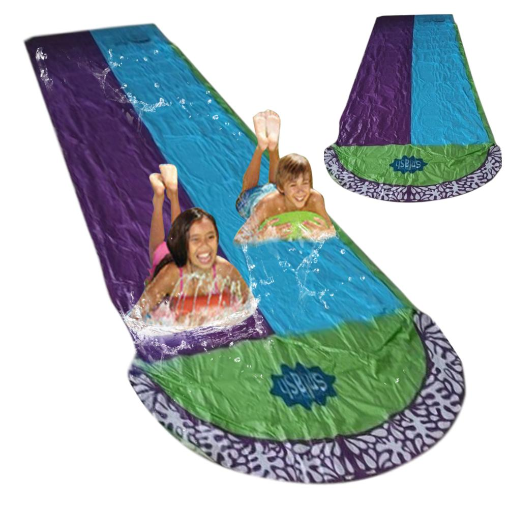 2020 New Inflatable Water Slide Lawn Water Backyard Water Slide Tarp Summer Toy For Children Outdoors Have Fun Summer Park