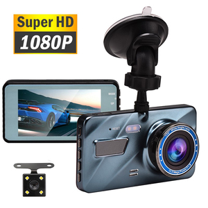 "J16 Car DVR Dash Camera Rear View Dual Camera Video 1080P Full HD 3.6"" Cycle Recording Night Vision G-sensor Wide Angle Dashcam(China)"
