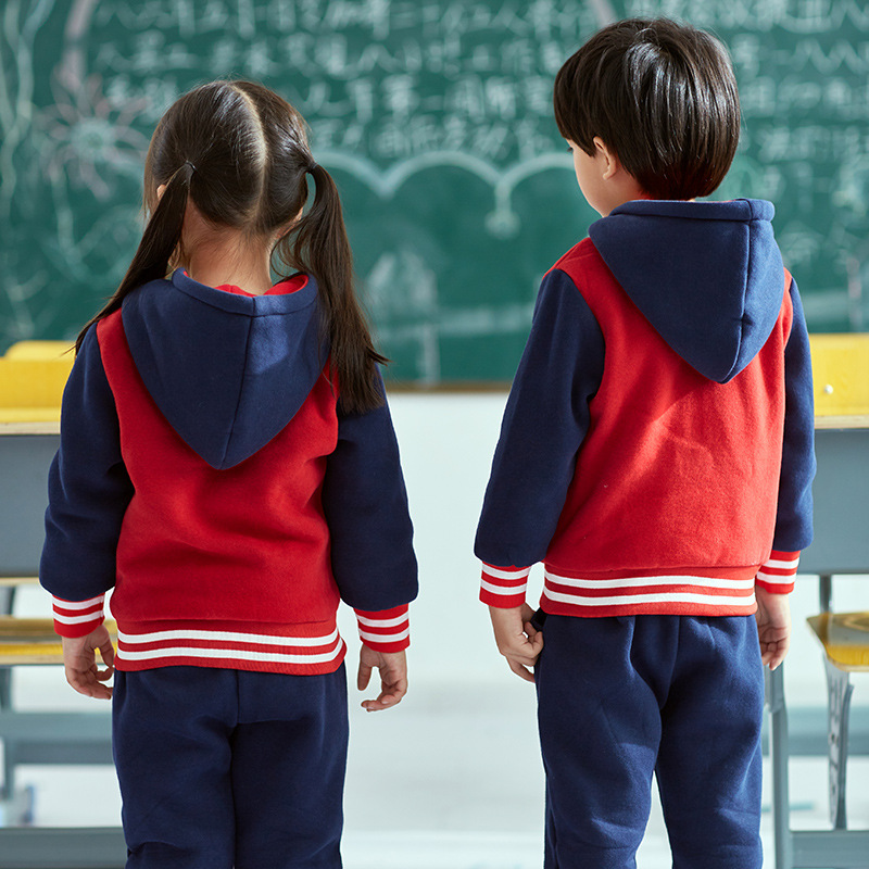 Kindergarten Suit Autumn And Winter New Style Young STUDENT'S School Uniform Children Pure Cotton Casual Business Attire Men And