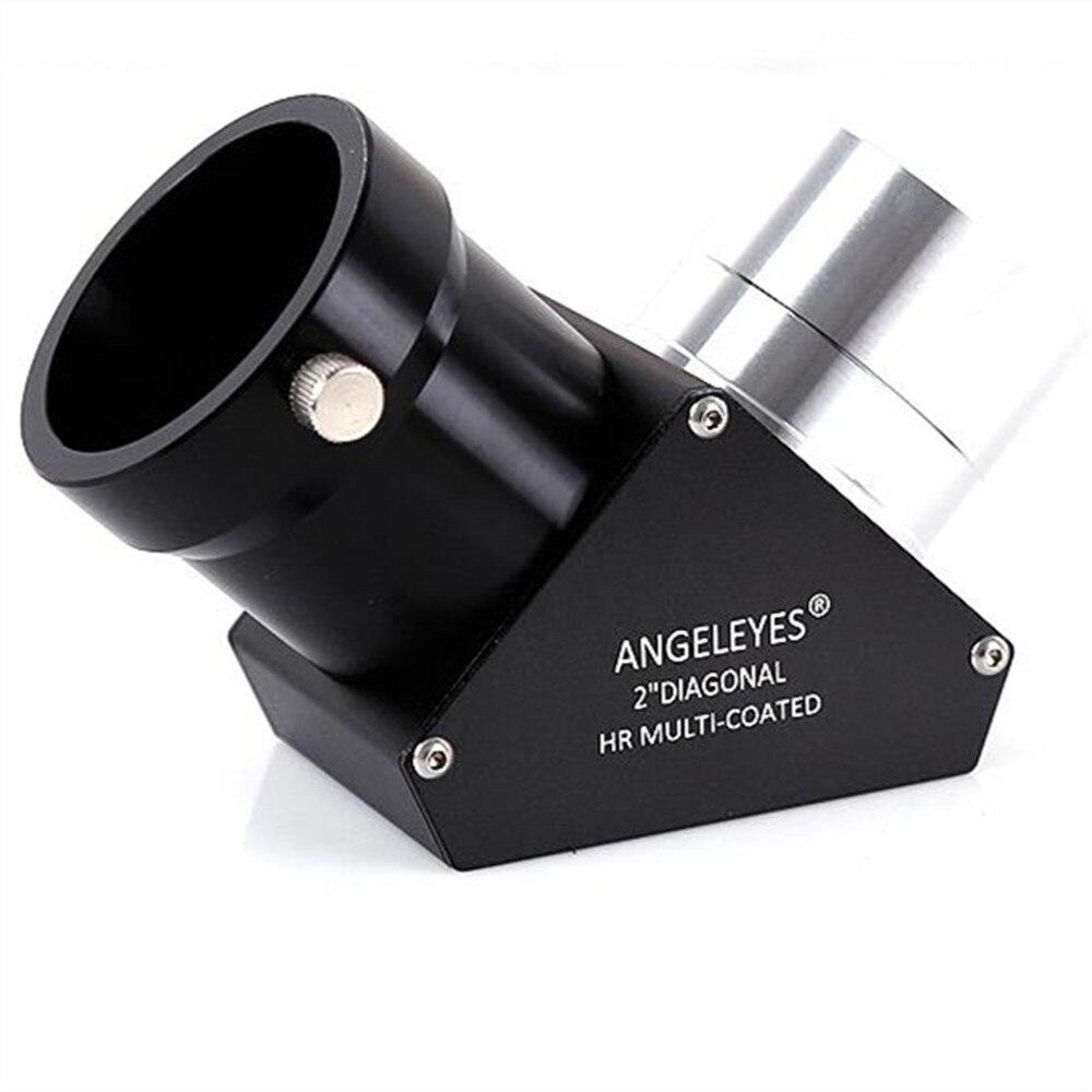 Angeleyes diagonale astronomique télescope Vision nocturne oculaire 2 pouces haute-réflexion haute Anti-céleste miroir angel2pouces