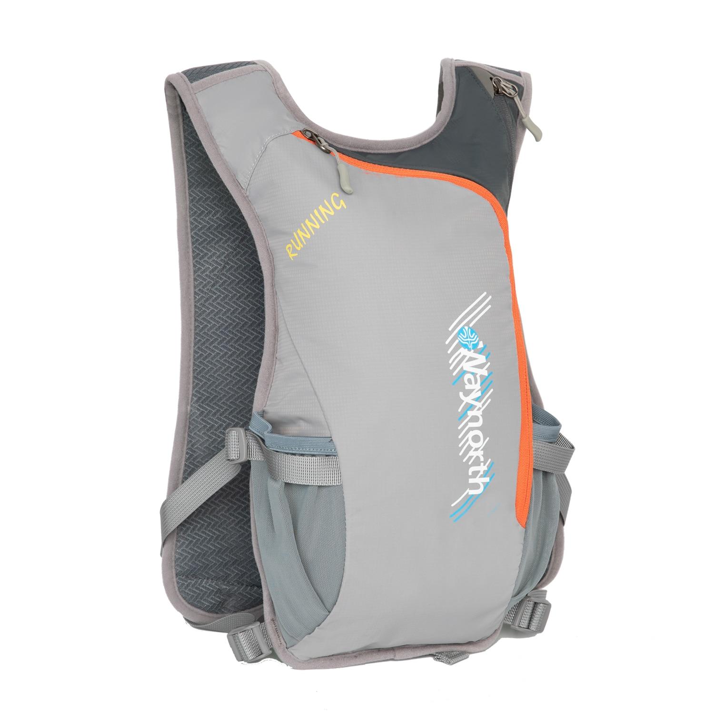 Trail Running Backpack 5L Ultra Hydration Vest Pack Marathon Bike Rucksack 500ml Soft Flask Bottle Water