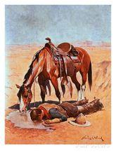 Винтажный ковбойский металлический жестяной знак для напитков