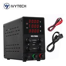Fuente de alimentación regulada de laboratorio, estabilizador y regulador de voltaje, fuente de Banco de conmutación, USB ajustable, CC, 30V, 10A, 120V3A, nueva