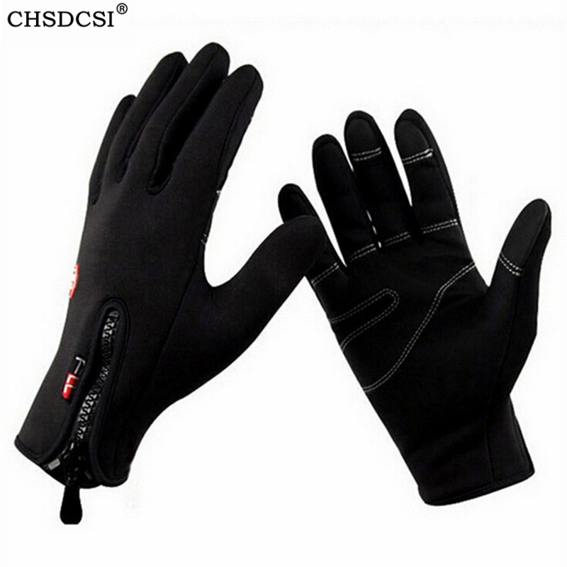 CHSDCSI 2019 Windproof Luvas De Inverno Tactical Mittens For Men Women Warm Gloves Tacticos Fitness Luva Winter Guantes Moto
