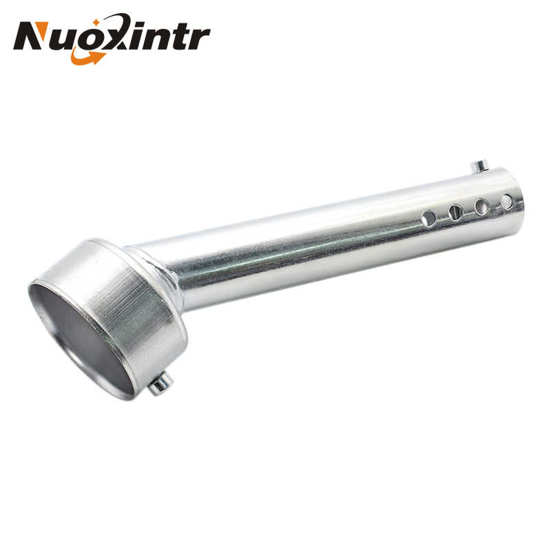 Nuoxintr Motorfiets Uitlaat Verstelbare DB Killer Silencer Noise Sound Eliminator Universele Chrome 48mm