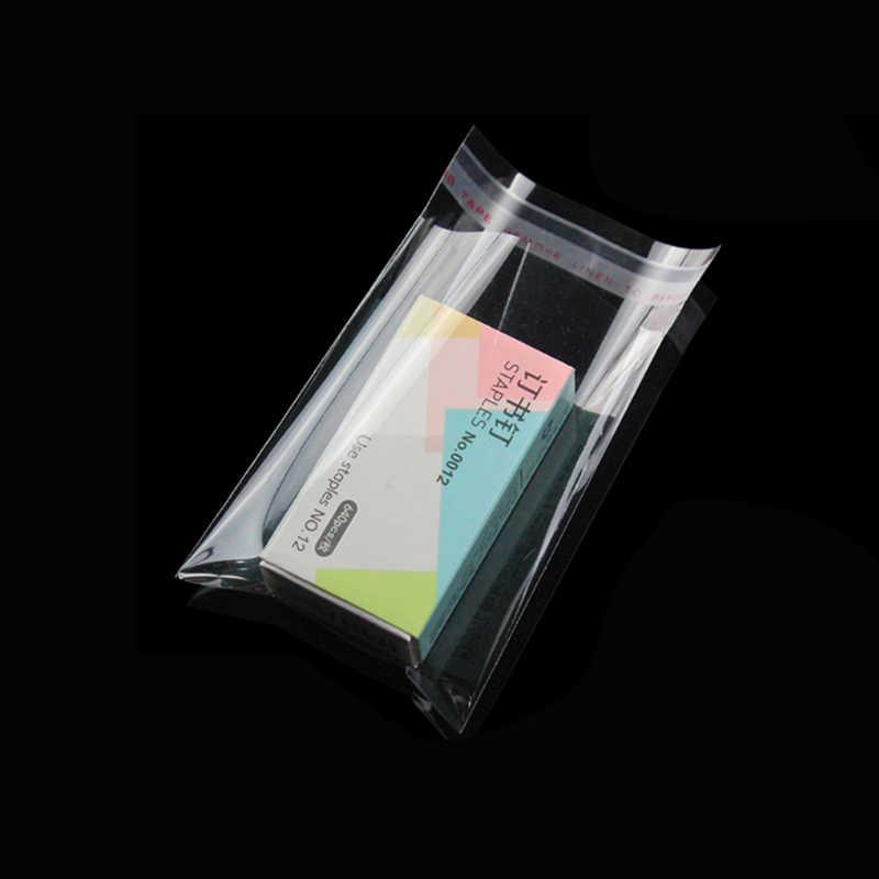 100 قطعة/الوحدة واضح الذاتي لاصق كيس السلوفان البلاستيك الذاتي ختم حزمة تخزين صغيرة ذاتية اللصق الأغلاق OPP بولي حقيبة