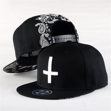 Snapback Baseball Caps Hats 2020 New Brand Street Dance Cool Hip Hop Caps Embroidery Cross Snap Back Bone Hat Free Shipping(China)