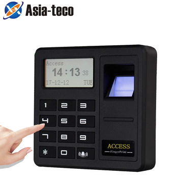 Standalone Biometric Fingerprint Access Control Single Door Controller Standalone Keypad RFID Card Door Entry фото