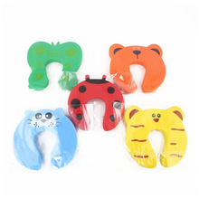 Decorative Jammer Door-Stopper Safety-Care Children-Protection Baby Kid Cartoon 5pcs/Lot