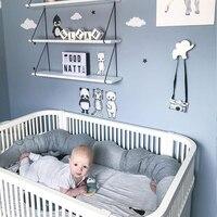 185 см детская подушка-Аллигатор, детская кровать, детская кроватка, забор, бампер, подушка для новорожденных, детская комната, декоративные и...
