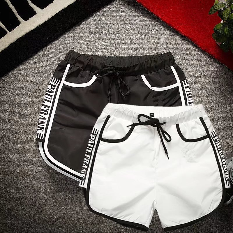 0337 Lively Social Fella Shorts Summer Slim Fit Couple's Pants Deft Reds Celebrity Style Shorts Beach Shorts Fashion