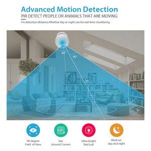 Image 3 - Tuya 스마트 라이프 WiFi PIR 적외선 모션 센서 알람 탐지기 무선 슈퍼 미니 모양 PIR 센서 감지기 홈 알람 시스템