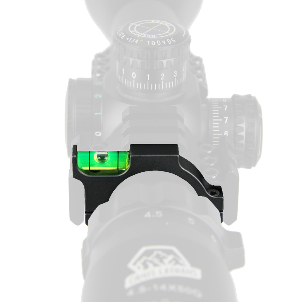 Пузырьковый уровень 25,4 мм 30 мм Сфера уровень крепление уровень кронштейн Airsoft Прицел Крепление анти-cant Охотничьи Аксессуары для дробовика