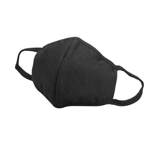 #H40 3Pcs Reusable Mask Windproof Mouth-muffle Bacteria Proof Flu Face Masks Care Activated Carbon Cotton Filters 3