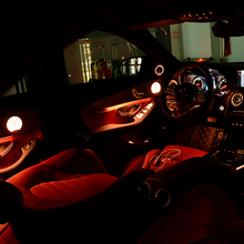 Bande de lumière LED 64 couleurs pour voiture entière, illumination ambiante pour Mercedes-Benz classe A, C, C200L, W205, X253, W176, W177