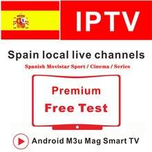 Europe IPTV Spain 1 Year M3U Subscriptiom Spanish Movistar Sport cinema For SSIPTV Spain Smart TV