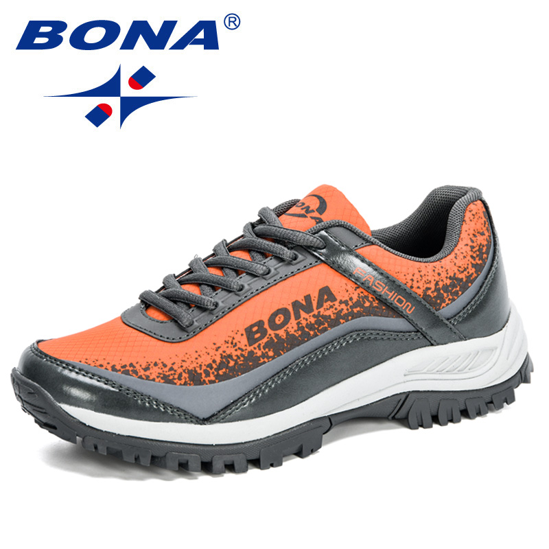 BONA 2020 New Arrival Stylish Woman Running Shoes Trendy Sneakers Women Jogging Walking Breathable Sports Footwear Ladies Comfy