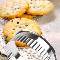 12 Pcs Stainless Steel Round Dumplings  Molds Set Cutter Maker Tools round Cookie Pastry Wrapper Dough Cutting Tool 1