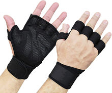 Sports Cross Training Gloves Wrist Support Weightlifting & Fitness-Silicone No Calluses-Suits Men & Women-Weight Lifting Gloves