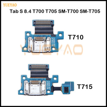 USB Charging Port Connector Plug Charge Dock Jack Socket Flex Cable For Samsung Galaxy Tab S 8.4 T700 T705 SM-T700 SM-T705 image