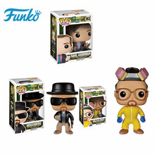 New Sale Funko POP Breaking Bad Brinquedos #162 HEISENBERG Vinyl Doll Action & Figures Toys Collection Model Birthday Gift