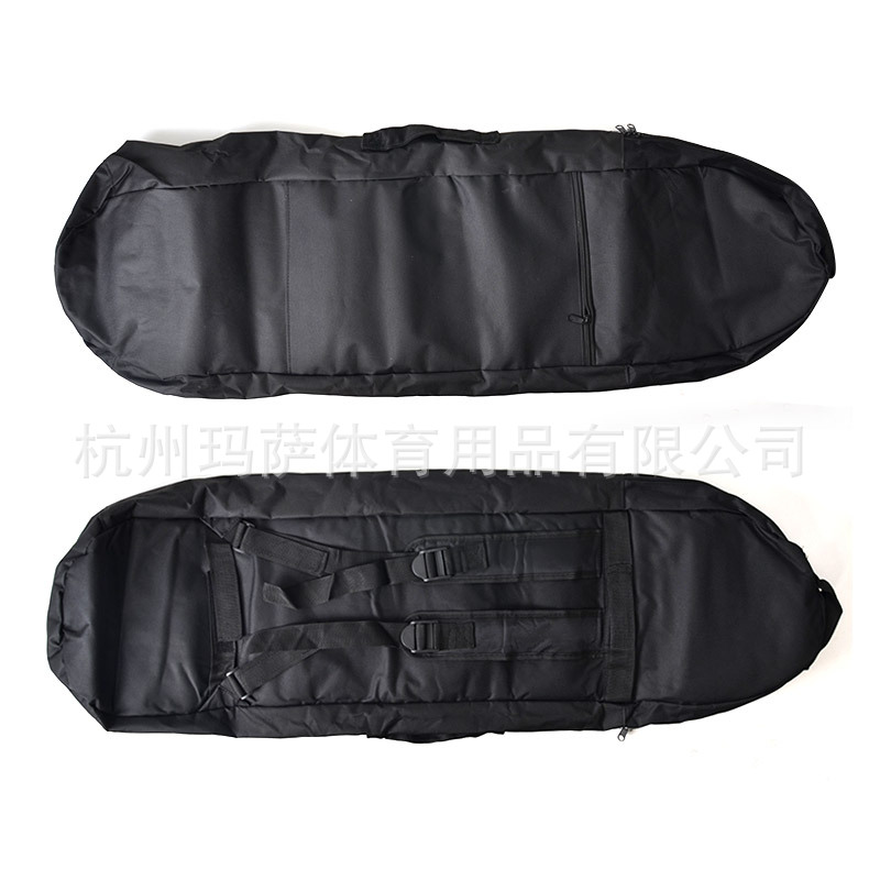 Top Grade Long Board Bag 600D Backpack Thick Long Board Backpack Waterproof Skateboard Bag MS2106