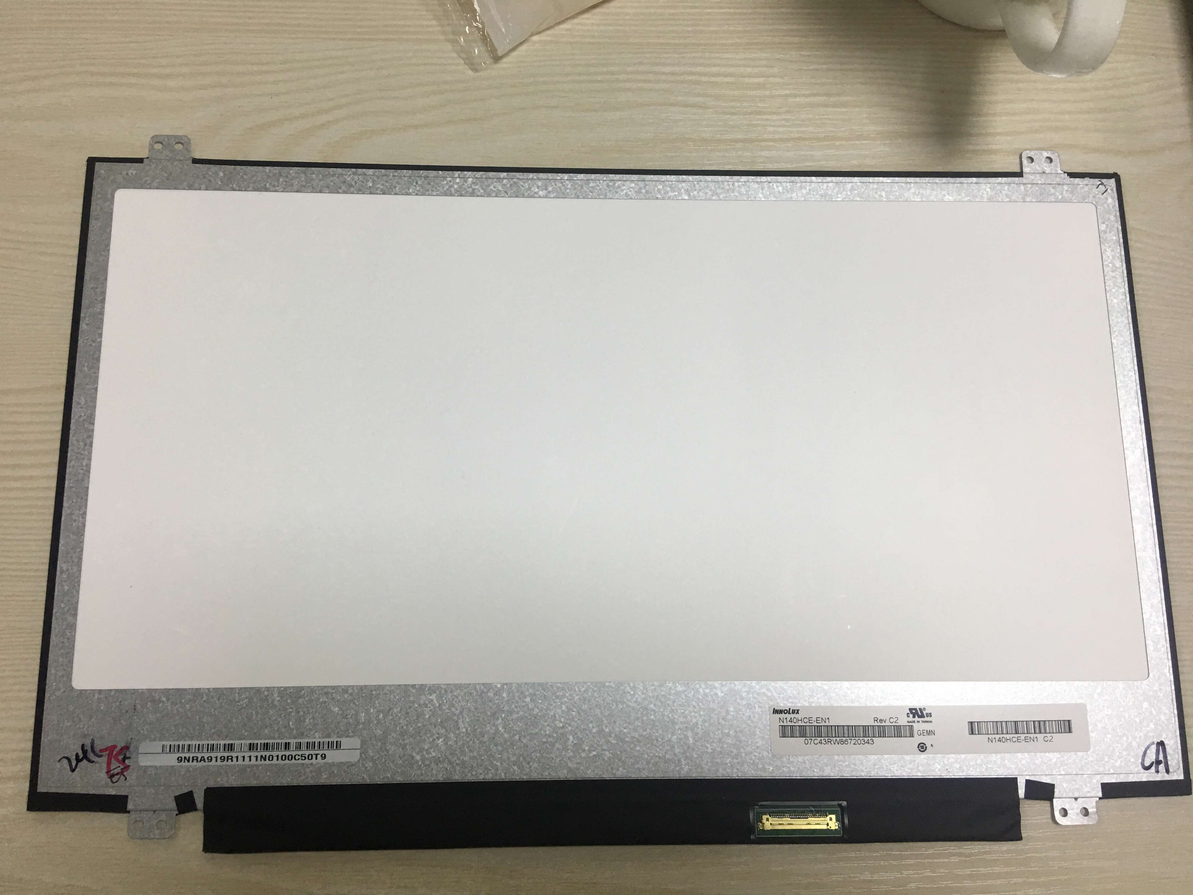 14 LED LCD Screen Display Panel Matrix Exact Model N140HCE EN1 Rev C2 IPS 72%NTS Tested Grade A+++C FHD-in Laptop LCD Screen from Computer & Office