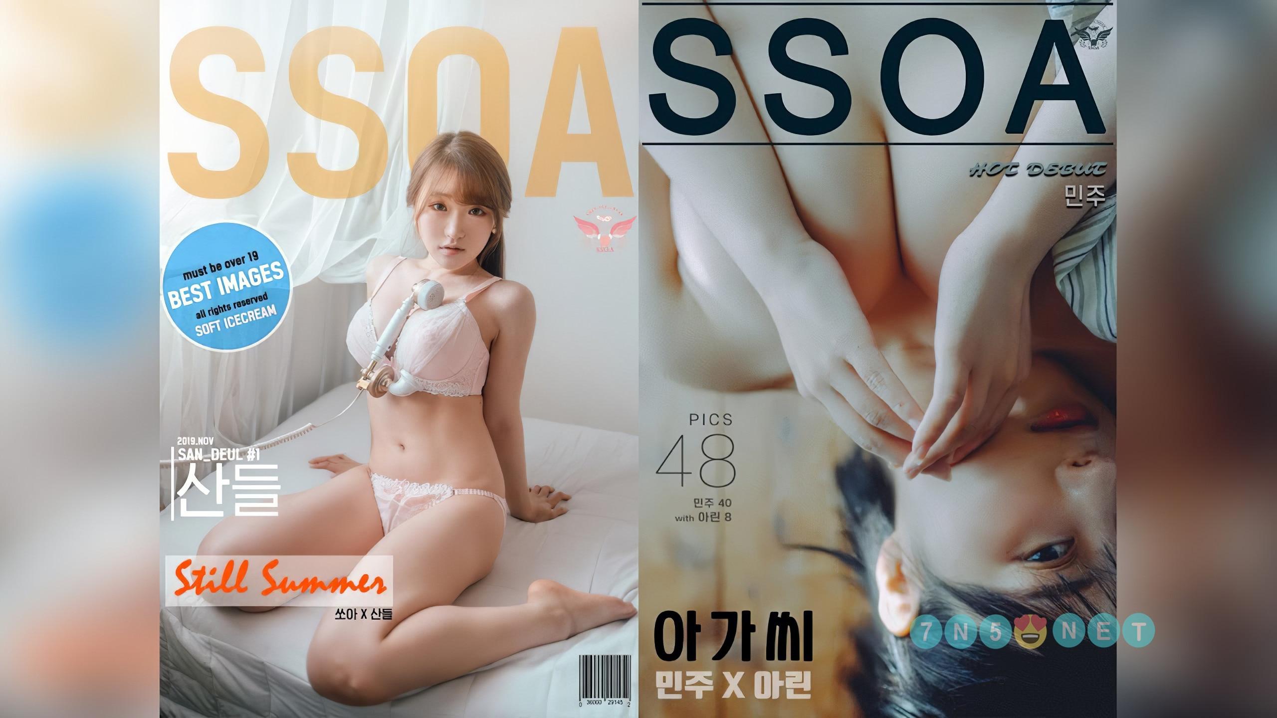 韩国SSOA摄影超清视频及2K图包打包[98V/140P/2.2G]