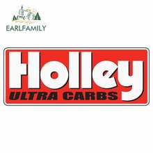 EARLFAMILY 13cm x 5.2cm for Holley Logo Car Stickers Vinyl JDM Waterproof RV VAN Fine Decal 3D Car Accessories Graphics Sign(China)