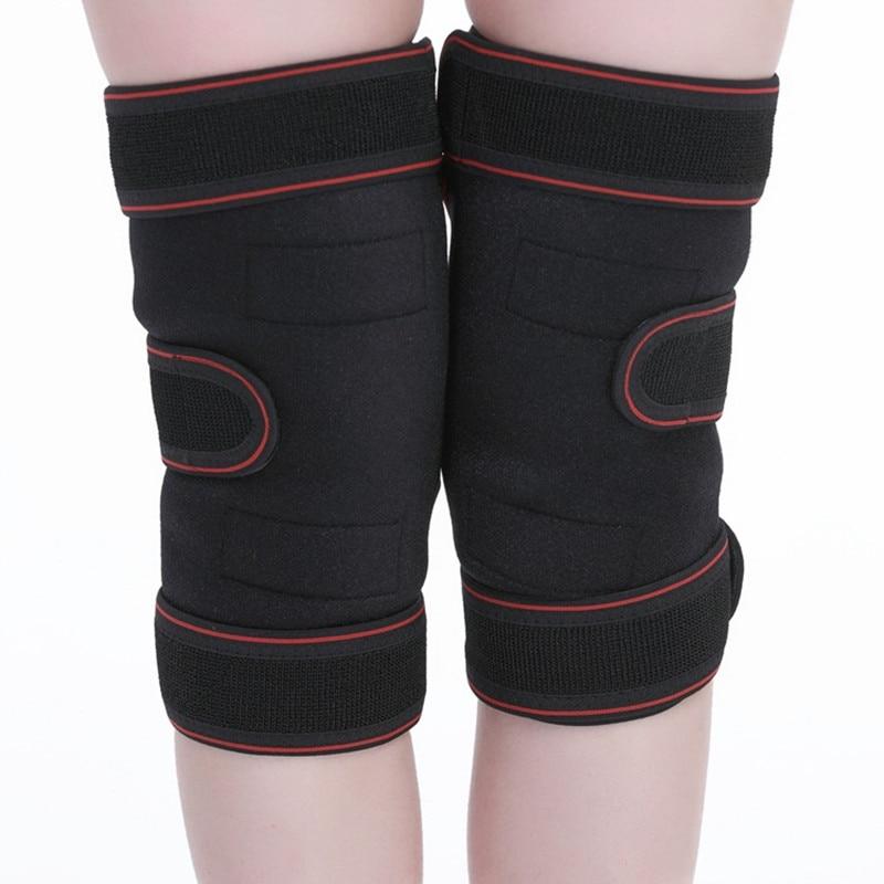 TJ-Tianjun New Knee Protector Tomalin Self-heating Warm Old Cold Leg Sports Multi-functional Knee Protector