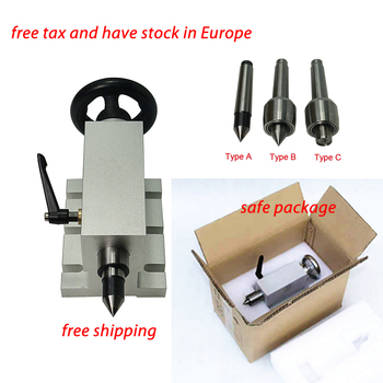 CNC Tailstock for Rotary Axis, A Axis, 4th Axis, CNC Router Engraver Milling Machine Lathe Engraving Machine Chuck cnc 4th axis 3 jaw chuck 100mm a aixs rotary axis with chuck for cnc router miiling planner