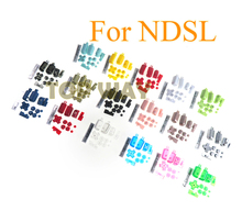 1set Replacement ABXY L R D Pad Cross Button Full Button Set For Nintend DS Lite For NDSL Console Buttons Kit