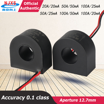 DL-CT10CL-50A/25mA 2000/1 compact Micro Current Transformer 100A/50mA amorphore transformer core  AC current sensor 100A/20mA high quality current sensor transformer dl ct08cl10 20a 10ma 2000 1 60a micro precision current transformer toroidal miniature