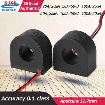 цена на DL-CT10CL-50A/25mA 2000/1 compact Micro Current Transformer 100A/50mA amorphore transformer core  AC current sensor 100A/20mA