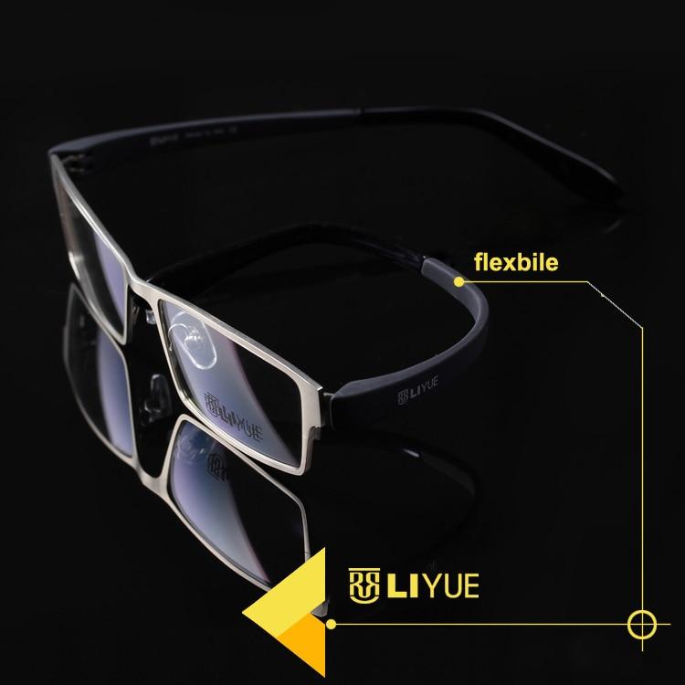 Alloy Glasses Frame Men Male Optical Spectacles Computer Prescription Myopia Eye Glasses Transparent Glass Frame Fake Eyeglasses