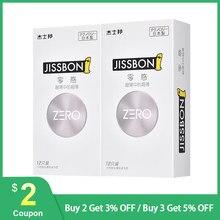 Jissbon – préservatif zéro en Latex naturel, produit Original Ultra fin, lubrifiant lisse, jouets sexuels, produits de stimulation féminine