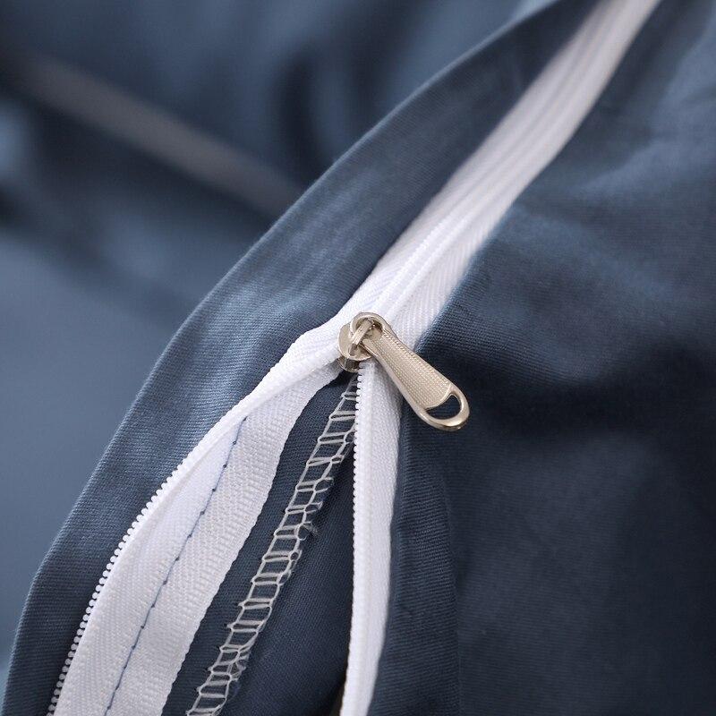 4/3 шт. 100% хлопок с оборками в Корейском стиле девочки односпальный Постельный набор, простынь и наволочки для двуспальной кровати размер пло... - 4