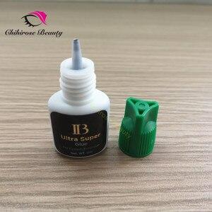 Image 5 - 10pcs Ibeauty Fast drying ultra super glue for eyelash extensions make up artist lash studio IB ultra super glue   long lasting