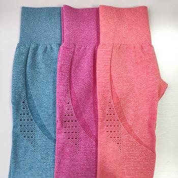Nepoagym Women New Marl Color Classic Energy Seamless Leggings High Waist Yoga Pants Athletic