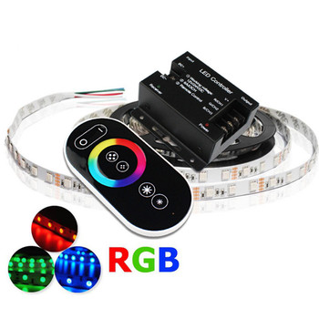 цены Smart RGB LED Controller Dimmer DC12V 24V 18A 3 Channel 18 Modes Wireless Touch RF Remote Controller for RGB LED Strip Lights