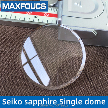 цена 1 Piecse Sapphire Crystal Watch Glass Watch partl  Single Dome 31.5x3.5x2.5mm For Seiko онлайн в 2017 году