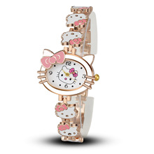 Hello Kitty Watch for Kids Children Girls Cute Cartoon