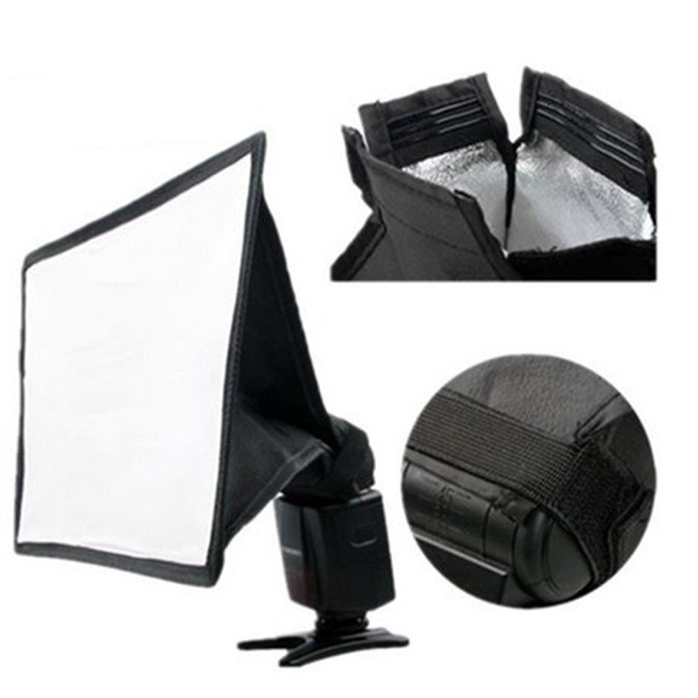 White Universal Camera Astigmatism Diffuser Pouch Soft Cover Flash Cloth Cover Photographic Equipment Accessories for Photography Photo Studio for Photo Shooting Color : As Shown, Size : 10pcs