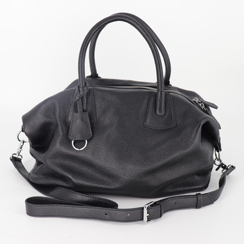 High Quality Women Large Capacity Handbags Genuine Leather Classic Casual Tote Bags Ladies Daily Hand Bags Black Shoulder Bag cow leather women handbags 2020 fashion large capacity shoulder messenger bag high quality ladies casual tote louis vuitton bags